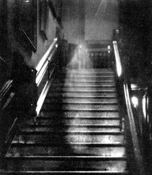 "Famous ""brown lady"" ghost photo"