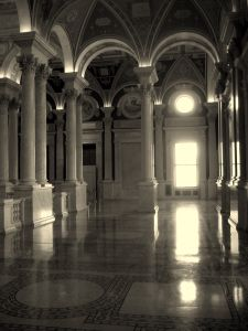 haunted U.S. Library of Congress