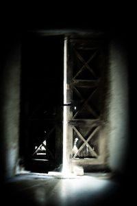 opening door - ghost story trope