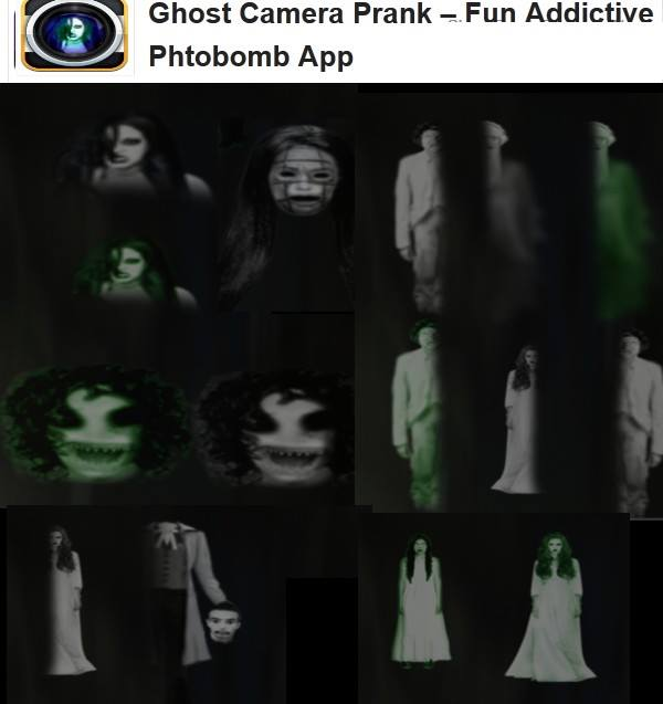 One ghost photo app