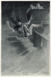 Canterville ghost illustration