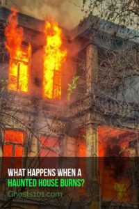 What happens when a haunted house burns? Answers