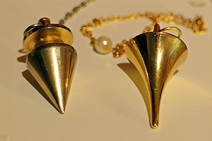 Pendulums for ghost hunting
